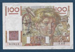 France - 100 F  Jeune Paysan  Du  31 - 10 - 1946 - 1871-1952 Anciens Francs Circulés Au XXème