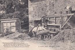 SAINT QUENTIN - Des - CHARDONNERETS -  AGRICULTURE  -  Matériel De Battage DECAUVILLE -  RARE - Autres Communes