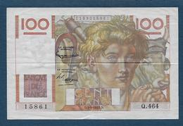 France - 100 F  Jeune Paysan  Du  4 - 9 - 1952 - 1871-1952 Anciens Francs Circulés Au XXème