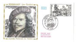 FDC Rembrandt Par Gandon (59 Lille 26 Février 1983) - FDC