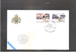 FDC San Marino - 1998 - Emigration (à Voir) - FDC