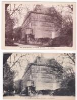 """CPA - 85 - VENDEE - SAINT MICHEL EN L'HERM """" Le Château """" 2 Cartes - Saint Michel En L'Herm"""