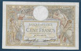 France - 100 F  L.O. Merson  Du  15 - 2 - 1934 - 1871-1952 Anciens Francs Circulés Au XXème