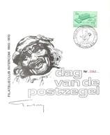 Dag Van De Postzegel (filatelieclub Intercom), 12 April 1970 - Cartas Commemorativas