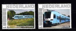 Trein, Train, Locomotive, Eisenbahn Nederland Connexxion Spurt Valleilijn + Connexxion Protos Valleilijn - Treinen