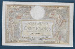 France - 100 F  L.O. Merson  Du  14 - 9 - 1939 - 1871-1952 Anciens Francs Circulés Au XXème