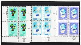 RAN167 VEREINTE NATIONEN UNO WIEN 1994 Michl 167/69 ECKRAND-VIERERBLOCK ** Postfrisch SIEHE ABBILDUNG - Wien - Internationales Zentrum