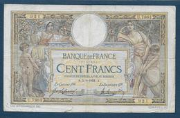 France - 100 F  L.O. Merson  Du  5 - 8 - 1921 - 1871-1952 Anciens Francs Circulés Au XXème