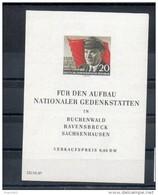 RDA. Bloc Feuillet. Ernst Thalmann - [6] République Démocratique