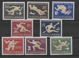 YOUGOSLAVIE - JEUX OLYMPIQUES DE MELBOURNE - YVERT N° 706/713 ** MNH - COTE = 100 EUR. - 1945-1992 Socialistische Federale Republiek Joegoslavië