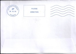 """02.AISNE.OMEC NEOPOST NAC """"LA POSTE 23495A / 2008"""" FD  (LAON) - Annullamenti Meccanici (pubblicitari)"""