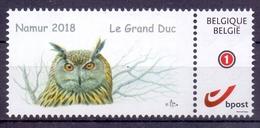 Belgie - 2018 - ** Duostamp - Le Grand Duc - Namur 2018 ** - Belgique