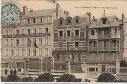 Dieppe Hotel Des étrangers 1907 - Dieppe