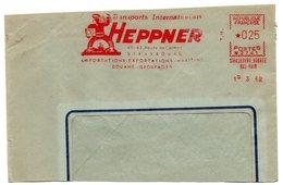 RHIN / Bas - Dépt N° 67 = STRASBOURG BOURSE 1962 = EMA  Illustrée = HEPPNER - Marcophilie (Lettres)