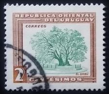 1954 Uruguay Mi:UY 778, Sn:UY 607, Yt:UY 625,. Ombu Tree (Phytolacca Dioica) . Oblitéré - Uruguay