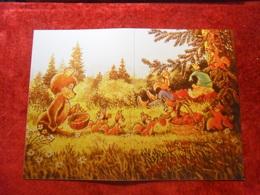 Zarubin Reprint Double Clean Dwarf Bear Berry Squirrel Forest - Orsi