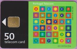 Télécarte °° Portugal - 50 - Portugal Telecom Verte - LG1 - V 6394 - Portugal