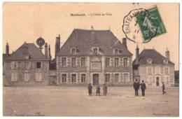 (41) 2285, Herbault, Vannier, L'Hotel De Ville, éolienne - Herbault