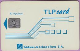 Télécarte °° Portugal - 50 - TLP Card Publimensagem - Sc5 - RV 2327 - Portugal