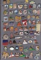 Lot De 74 Pin's Des PO (66) - Badges