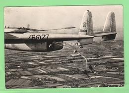 Pisa Aereo Avion Fairchild C 119 Cpa 1963 Parà Pisa Aeronautica Italiana Aviazione Flight  Paracadutismo - 1946-....: Ere Moderne