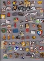 Lot De 80 Pin's Des PO (66) - Badges