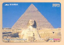 JAPAN Prepaidkarte - Ägypten - Siehe Scan - 4331 - Landschaften