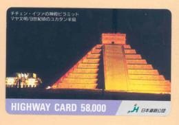 JAPAN Prepaidkarte - Ägypten - Siehe Scan - 4335 - Landschaften
