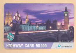 JAPAN Prepaidkarte - London - Siehe Scan - 4347 - Landschaften