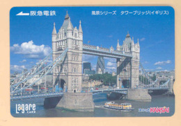 JAPAN Prepaidkarte - London - Siehe Scan - 4348 - Landschaften