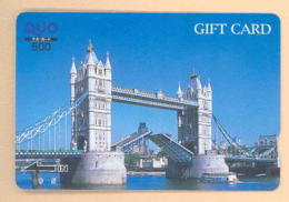 JAPAN Prepaidkarte - London - Siehe Scan - 4349 - Landschaften