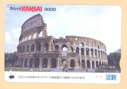 JAPAN Prepaidkarte - Italien - Siehe Scan - 4351 - Landschaften