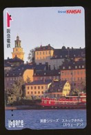 JAPAN Prepaidkarte - Landschaften, Städte - Siehe Scan - 4356 - Landschaften