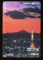 JAPAN Prepaidkarte - Landschaften, Städte - Siehe Scan - 4358 - Landschaften