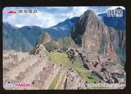 JAPAN Prepaidkarte - Landschaften, Städte - Siehe Scan - 4369 - Landschaften