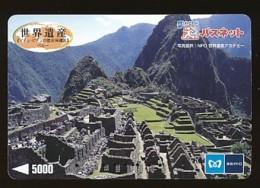 JAPAN Prepaidkarte - Landschaften, Städte - Siehe Scan - 4370 - Landschaften