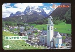 JAPAN Prepaidkarte - Landschaften, Städte - Siehe Scan - 4371 - Landschaften