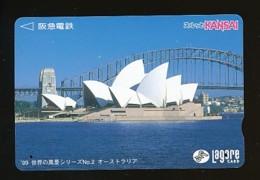 JAPAN Prepaidkarte - Landschaften, Städte - Siehe Scan - 4374 - Landschaften