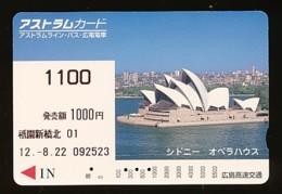 JAPAN Prepaidkarte - Landschaften, Städte - Siehe Scan - 4375 - Landschaften