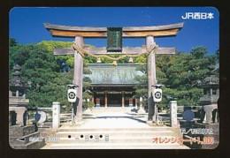 JAPAN Prepaidkarte - Landschaften, Städte - Siehe Scan - 4377 - Landschaften