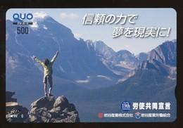 JAPAN Prepaidkarte - Landschaften, Städte - Siehe Scan - 4378 - Landschaften