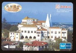 JAPAN Prepaidkarte - Landschaften, Städte - Siehe Scan - 4379 - Landschaften