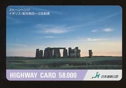JAPAN Prepaidkarte - Landschaften, Städte - Siehe Scan - 4384 - Landschaften