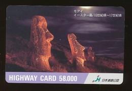 JAPAN Prepaidkarte - Landschaften, Städte - Siehe Scan - 4385 - Landschaften