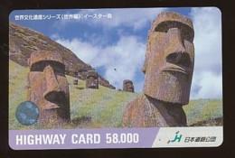 JAPAN Prepaidkarte - Landschaften, Städte - Siehe Scan - 4386 - Landschaften