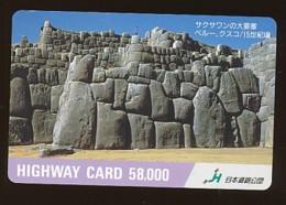 JAPAN Prepaidkarte - Landschaften, Städte - Siehe Scan - 4387 - Landschaften