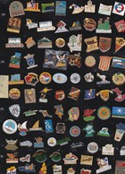 Lot De 88 Pin's Des PO (66) - Badges