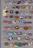 Lot De 57 Pin's Des PO (66) - Badges