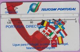 Télécarte °° Portugal - 120 Holo  - Portugal Directo - V 1246 °° TBÉ - Portugal