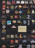Lot De 54 Pin's Des PO (66) - Badges
